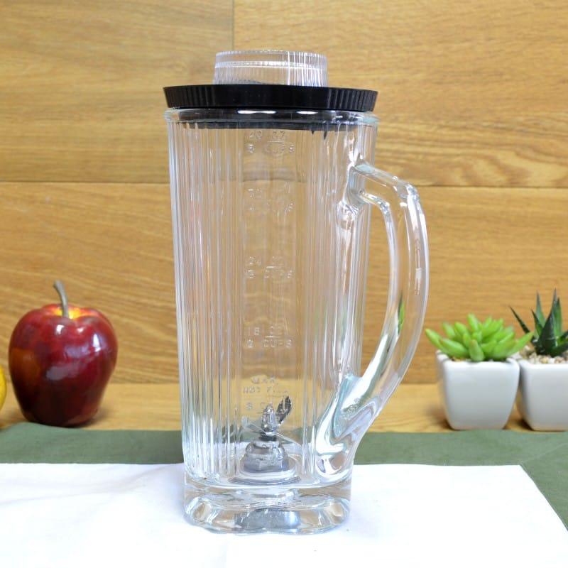 ワーリング BB900シリーズ用 刃付ガラスジャー Waring Commercial CAC34 Complete Glass Container with Blade and Lid