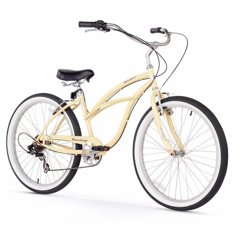 ビーチクルーザー 女性用 自転車 26インチ 7スピード Firmstrong Urban Lady Beach Cruiser Bicycle 26