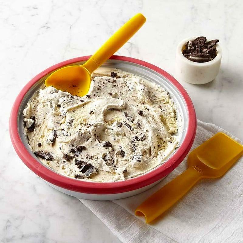 ウイリアムズ・ソノマ アイスクリームメーカー 皿Williams-Sonoma Chef'n Sweet Spot Ice Cream Maker