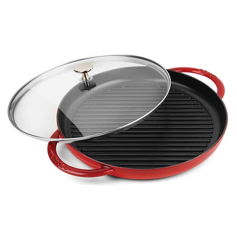 【30日間返金保証】【送料無料】 ストウブ スチーム グリル 鍋 30cm Staub Round Steam Grill