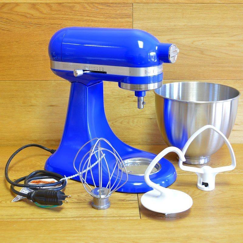 Kitchen Aid Stands Mixer Mini 3.3L Twilight Blue KitchenAid KSM3311X  Artisan Mini Series Tilt Head Stand Mixer