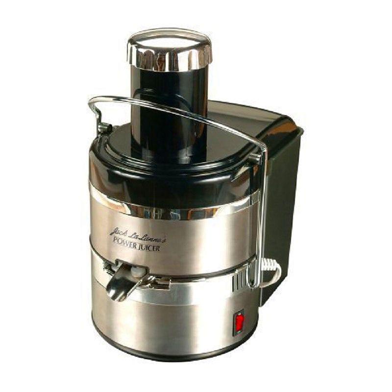 ステンレスジューサー 野菜 Jack Lalanne's JLSS Power Juicer Deluxe Stainless-Steel Electric Juicer 家電