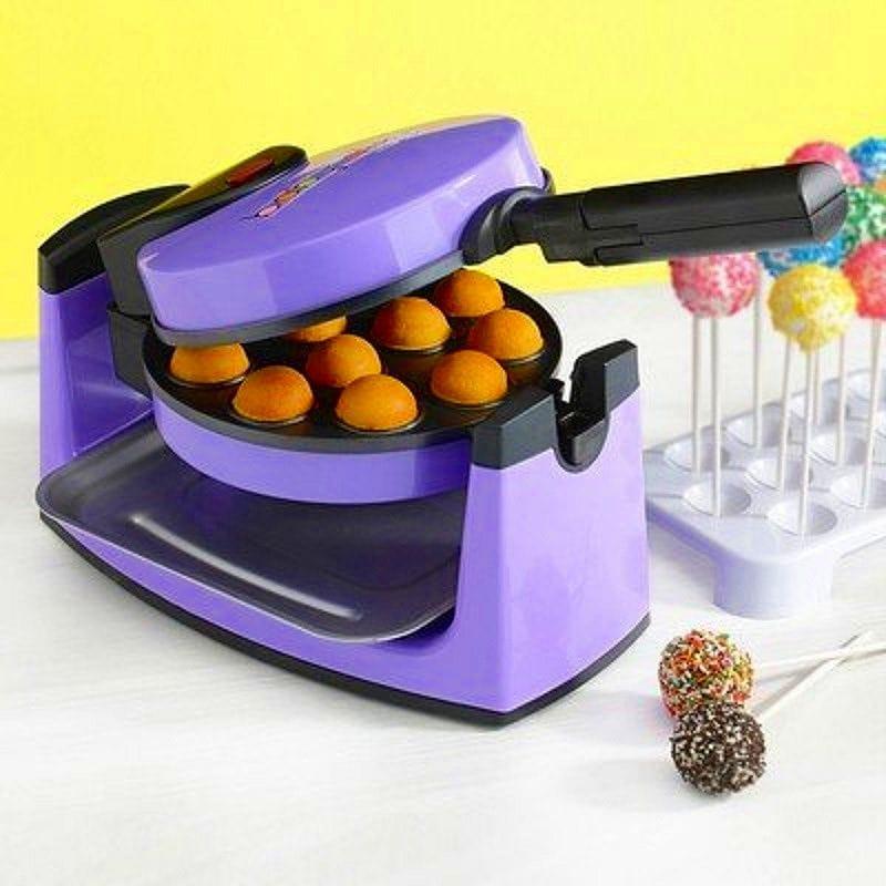 ベビーケーキ ミニケーキポップメーカー 12個 BabyCakes Flip-Over Complete Cake Pops Maker Kit CP-34R 家電