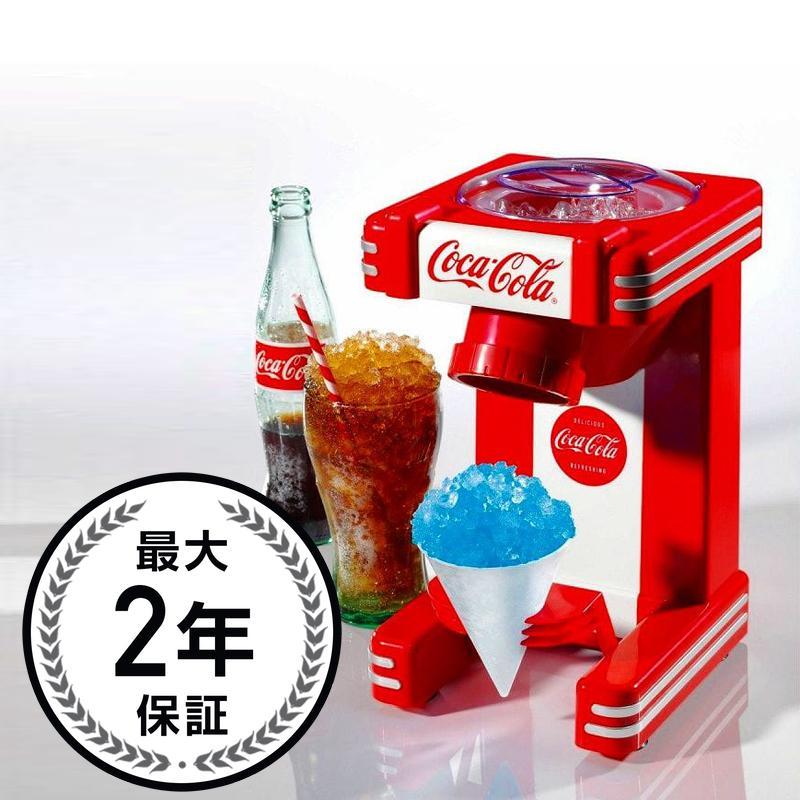 コカ・コーラ ノスタルジア レトロ かき氷機 スノーコーン Nostalgia Coca Cola RSM702COKE Single Snow Cone Maker 家電