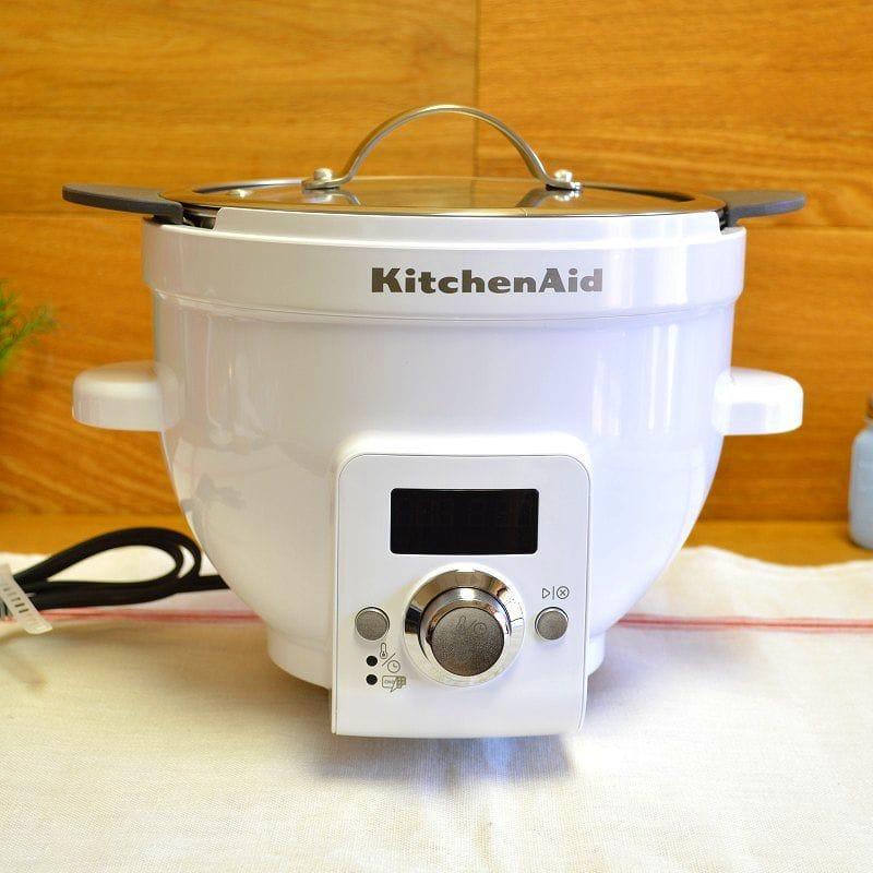 キッチンエイド ボウルリフトタイプ スタンドミキサー用 ヒートミキシングボウル KitchenAid KSM1CBL Precise Heat Mixing Bowl For Bowl-Lift Stand Mixers 家電