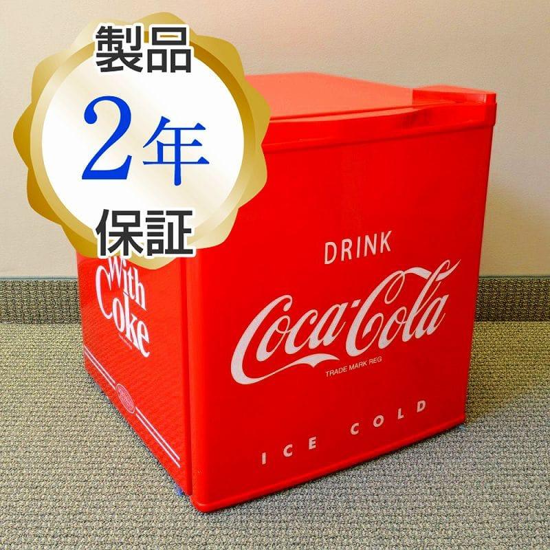 コカ・コーラ 小型冷蔵庫 冷凍庫付 ノスタルジア レトロ 西海岸 カリフォルニア Nostalgia Electrics Coca-Cola Series CRF170COKE Mini Fridge 家電