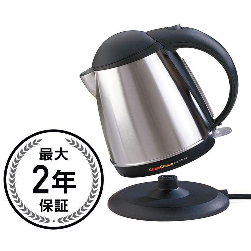 シェフズチョイス コードレス電気ケトル ティーケトル Chef's Choice 677 Cordless Electric 1-3/4-Quart Teakettle 家電