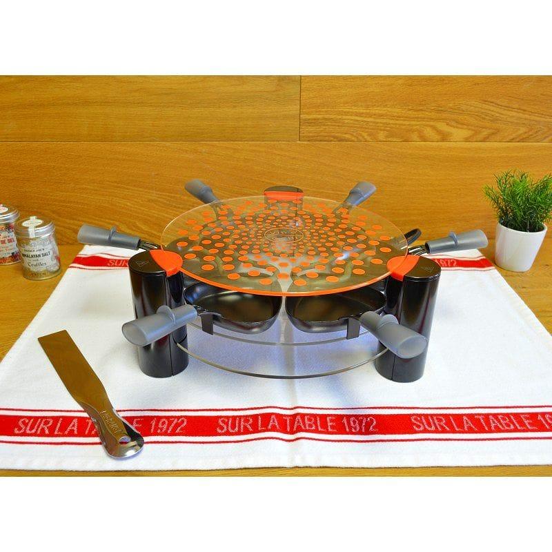 ラクレットグリル 6人用 ガラスグリルトップ オーブン フランス Raclette Grill Vitro for 6 with glass grill top 家電