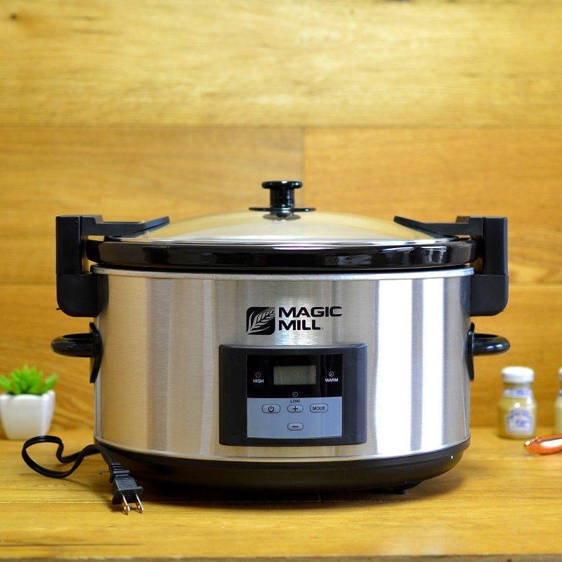 マジックミル スロークッカー 8.0L Magic Mill 8.5 Quart Programmable Slow Cooker 家電