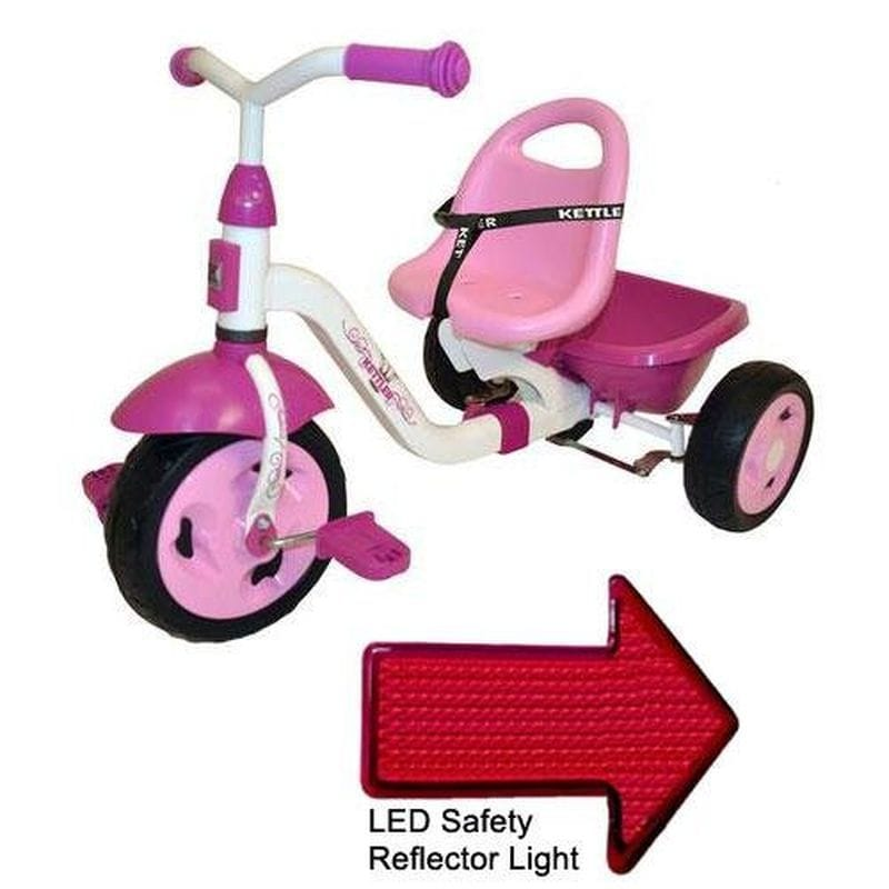 ケトラー 子供用三輪車 Kettler 8838-790 Kettrike Happy Prinzessin Navigator with LED Reflector Light