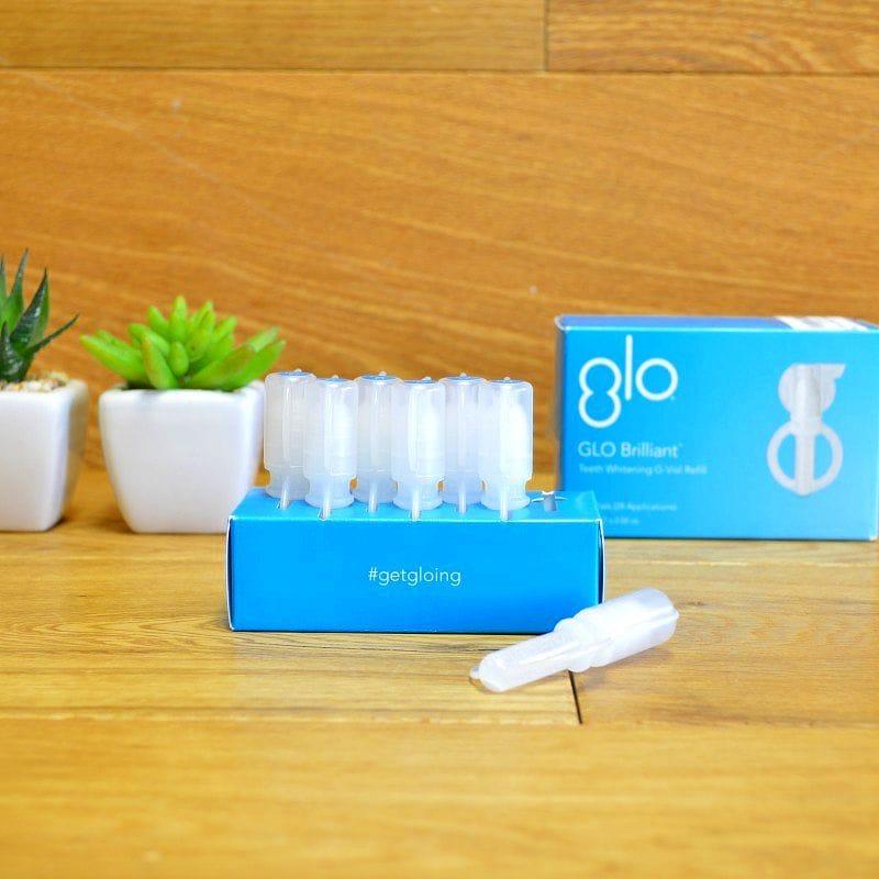 GLO ホワイトニング 詰替用ジェル 7個セット GLO Brilliant Whitening Gel Refill