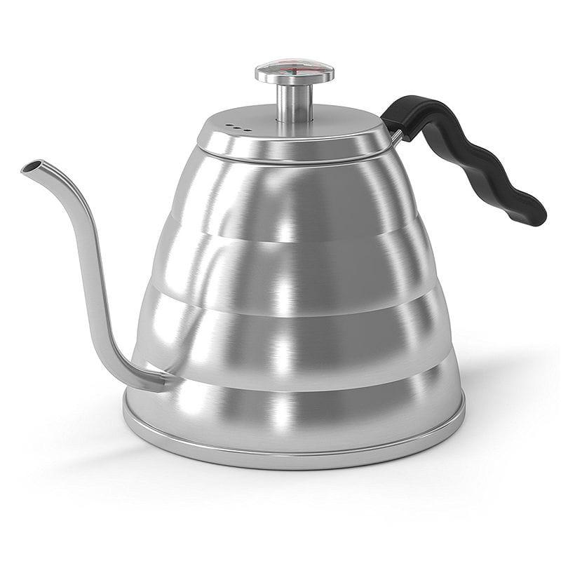 コーヒーケトル ハンドドリップ用 POUR OVER Coffee Kettle Stop Burning Your Beans - THERMOMETER Built-in by Coffee Gator For Perfect Hand Drip Coffee