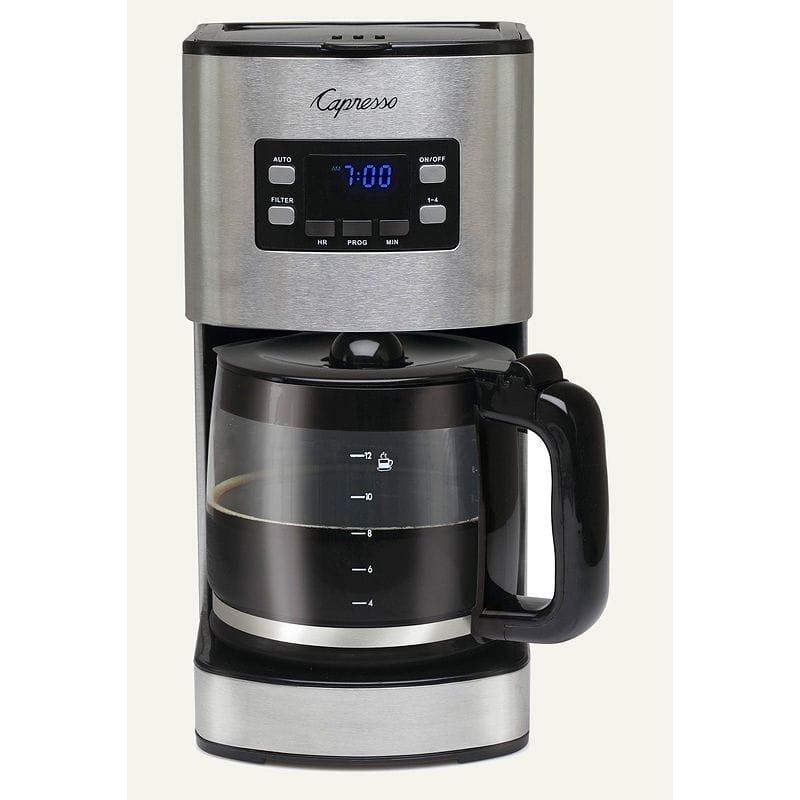 カプレッソ コーヒーメーカー ガラスカラフェCapresso SG120 494.05 家電