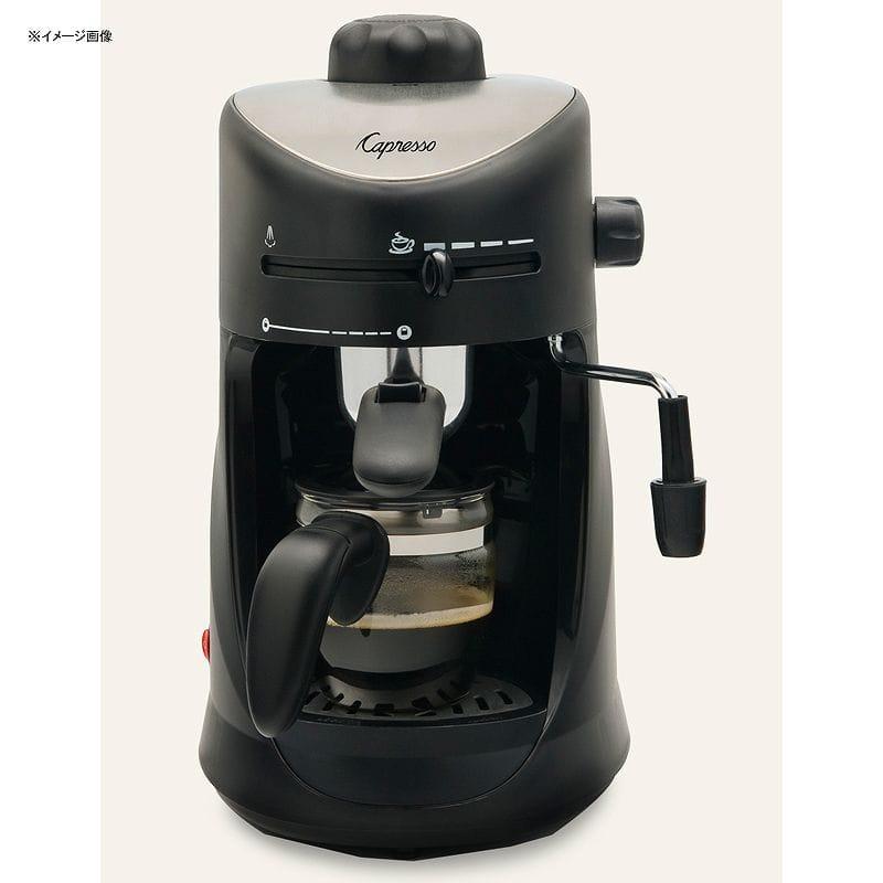 カプレッソ エスプレッソ&カプチーノマシーン スチーマー Capresso 4-Cup Espresso & Cappuccino Machine 303.01 家電
