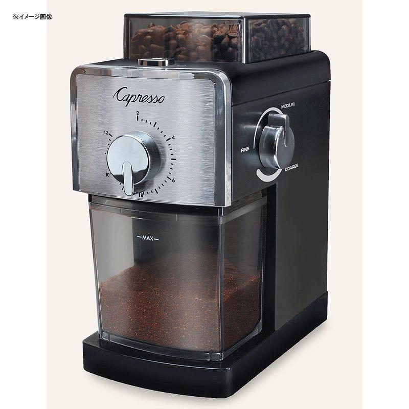 カプレッソ コーヒーミル グラインダー 豆挽きCapresso Coffee Burr Grinder #591.05 家電
