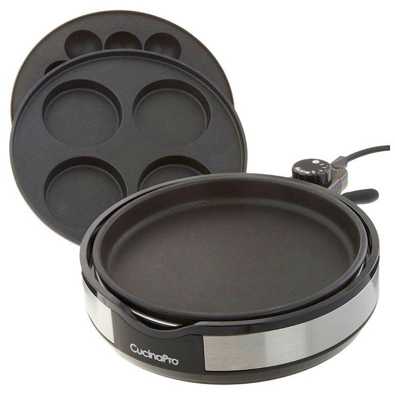 クッチーナプロ マルチホットプレート グリル プレート3種 CucinaPro Stainless Steel Multi Baker 1445 家電