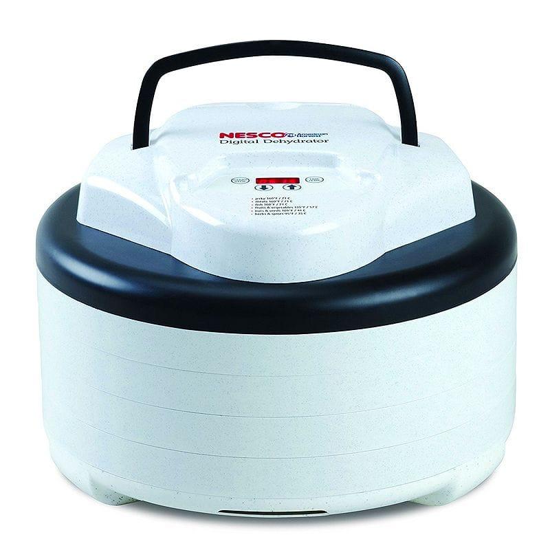 ネスコ ディハイドレーター 食品乾燥器 デジタル タイマー付 ドライフルーツ Nesco FD-77DT Digital Food Dehydrator, White 家電