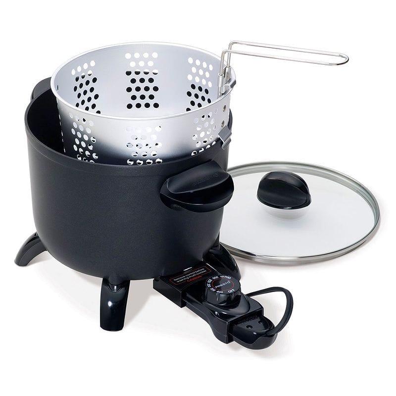 マルチクッカー スチーマー 蒸し器 ディープフライヤー Presto 06006 Kitchen Kettle Multi-Cooker/Steamer 家電