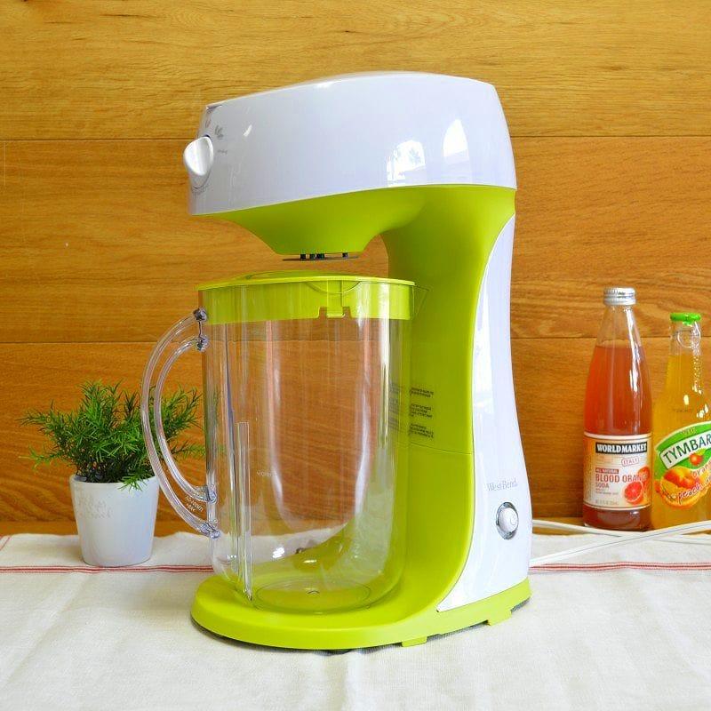 ウェストベンド アイスティーメーカー West Bend 68305T Iced Tea Maker, Green/White 家電
