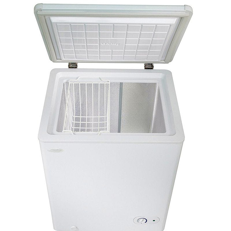 丹B製冷器冷凍室107L Danby DCF038A1WDB1 Chest Freezer,3.8 Cubic Feet