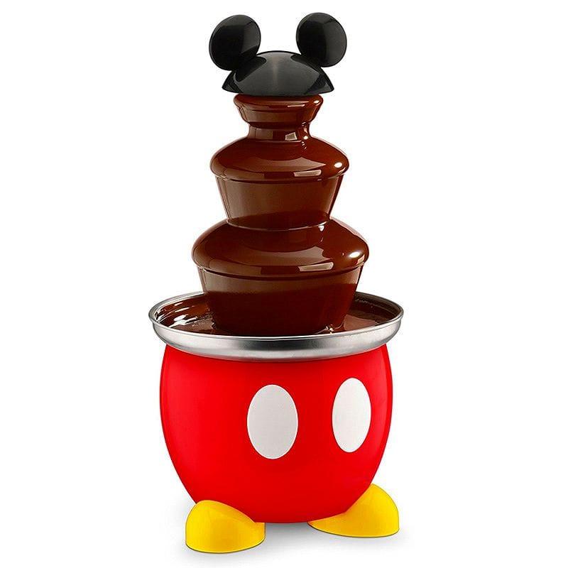 ディズニー ミッキー チョコレートファウンテン Disney DCM-50 Mickey Mouse Chocolate Fountain, Red 家電