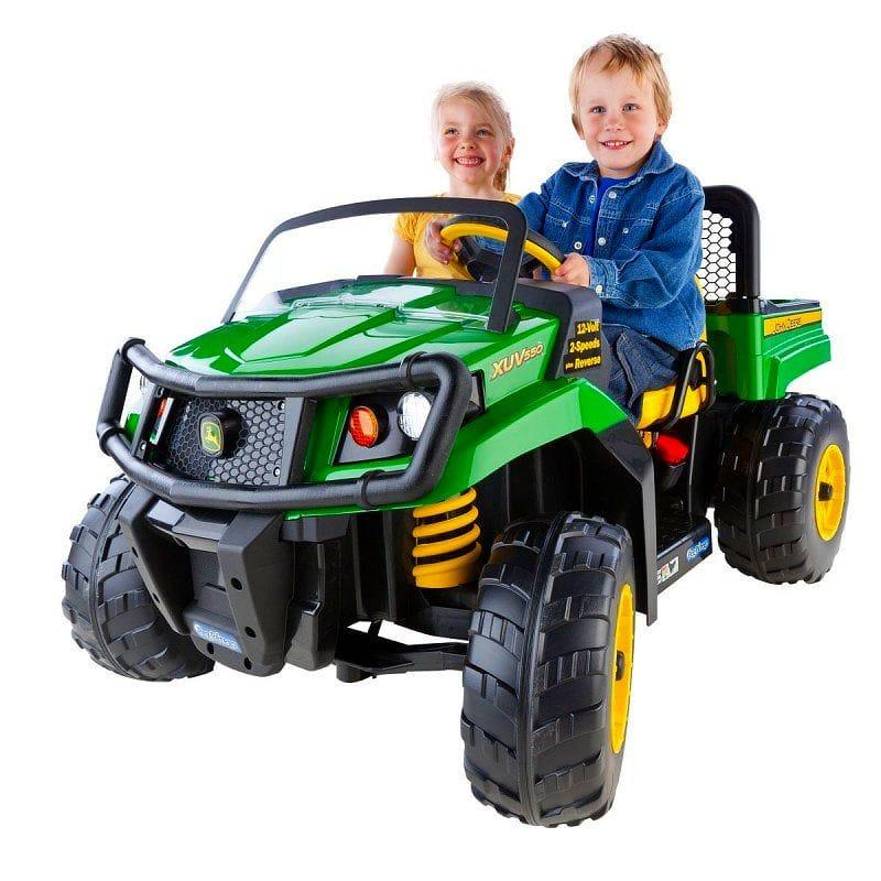 【組立要】ペグ ペレーゴ ジョンディーレ 12ボルト バッテリー付電動自動車 電気自動車 電動カー Peg Perego John Deere Gator XUV 12-volt Battery-Powered Ride-On