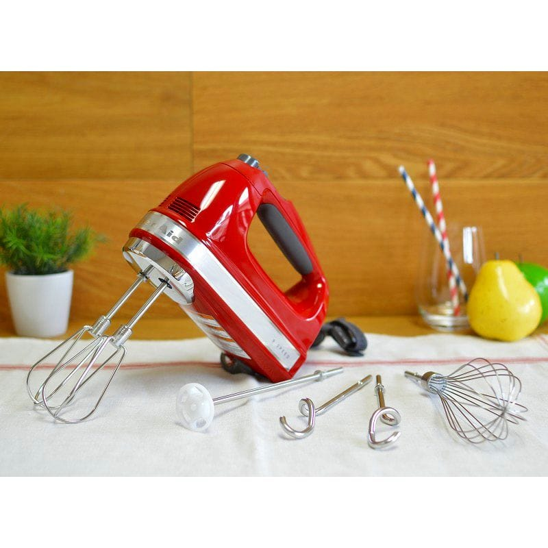 Kitchen aid hand mixer 9 speed KitchenAid KHM926ER Empire Red 9-Speed Hand  Mixer