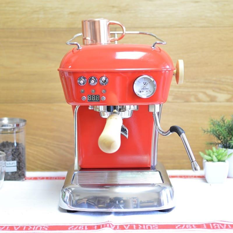 アスカソ エスプレッソマシン ドリーム スペイン製 PID制御付 コーヒー Ascaso Dream PID Espresso Machine【日本語説明書付】 家電