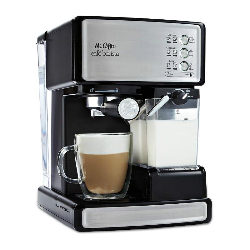 カプチーノ Mr. Cafe ミスターコーヒー エスプレッソマシン バリスタ Cappuccino カフェプリマ Barista 家電 Coffee Espresso and 15気圧 Maker