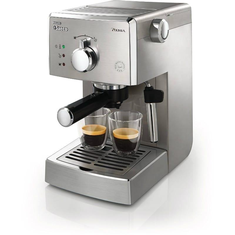 サエコ エスプレッソマシン Phillips Saeco HD8327/47 Poemia Top Espresso Machine 家電