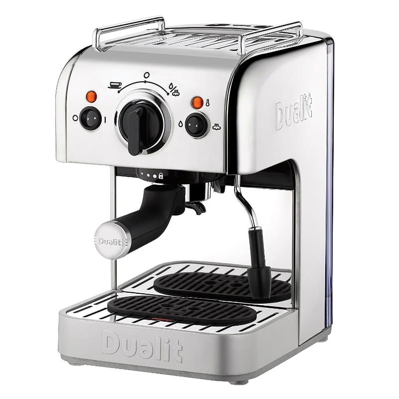 デュアリット エスプレッソマシン Dualit 4-in-1 Multi-Brew Espresso Machine with Bonus NX Adapter 家電