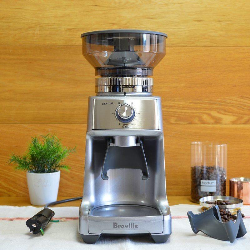 ブレビル 電動ミル 豆挽き グラインダー Breville BCG600SIL The Dose Control Pro Coffee Bean Grinder, Silver 家電
