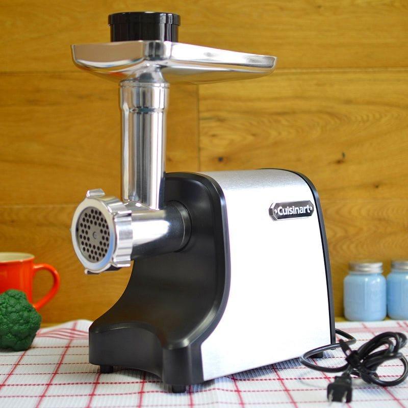 クイジナート ミートグラインダー 挽肉 ミンチ Cuisinart MG-100 Electric Meat Grinder, Stainless Steel 家電