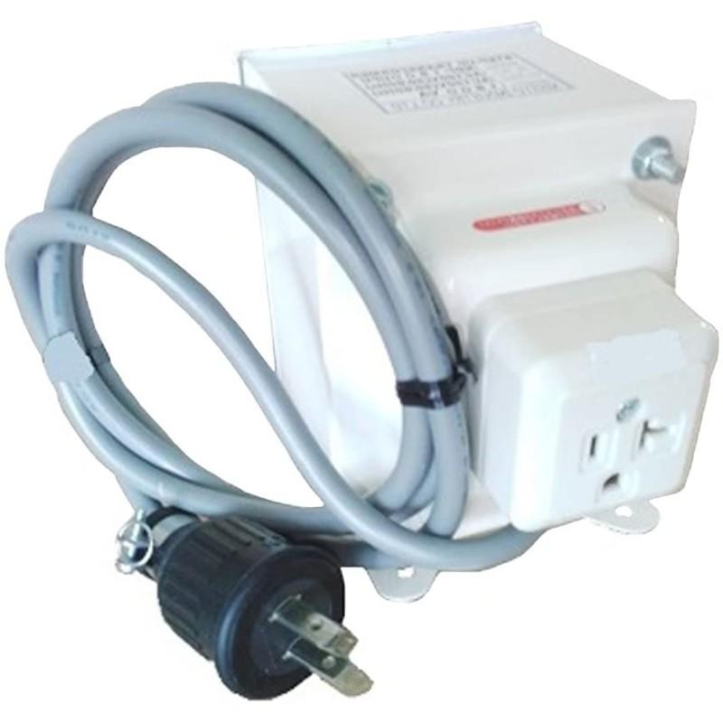 変圧器 アップトランス 入力電圧100V 出力電圧120V 出力容量1800W