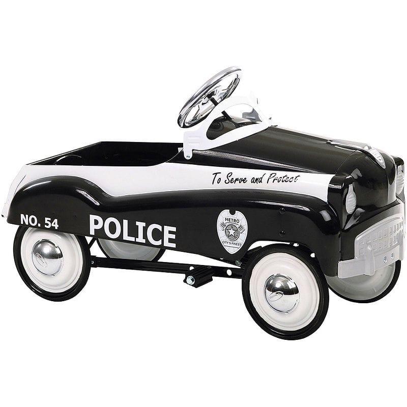 【組立要】 乗用玩具 ヴィンテージ レトロ アンティーク 子供用 ポリス 警察 ペダルカー 3才~ InStep Police Pedal Car カリフォルニア 西海岸
