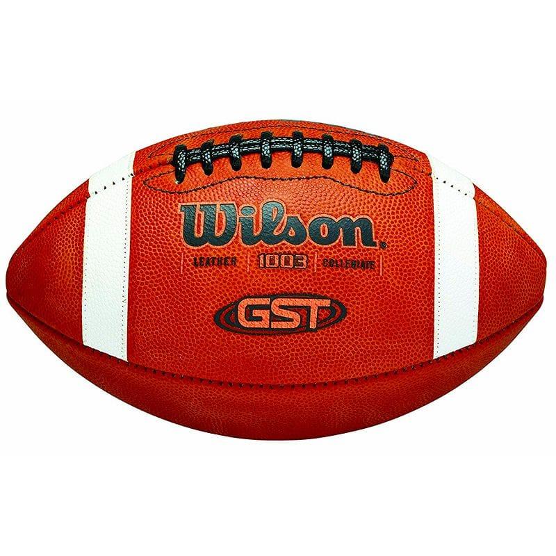 【人気商品】 アメフト フットボール アメリカ製 革 Wilson アメフト GST NCAA Leather Wilson Game Game Football, プチアーク:eb08183a --- fabricadecultura.org.br