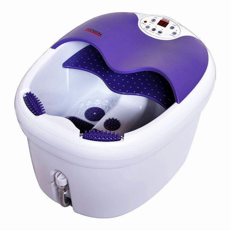 フットバス 足湯器 フットスパ マッサージ 持ち運び簡単 冷え性 足浴 エステ 電動ローラー付 Kendal All in one foot spa bath massager FBD1023 家電
