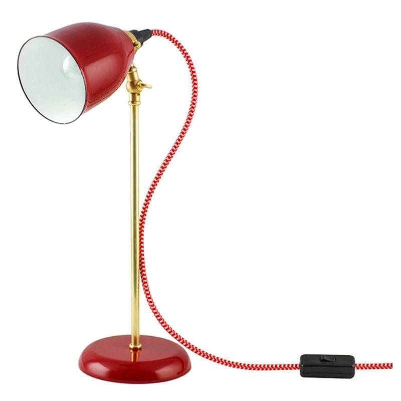 アンティーク デスクライト レトロ 照明 ランプ カスタマイズ可能 オーダーランプ ビンテージ テーブルランプ Barn light electric The Lovell Porcelain Task Lamp 家電