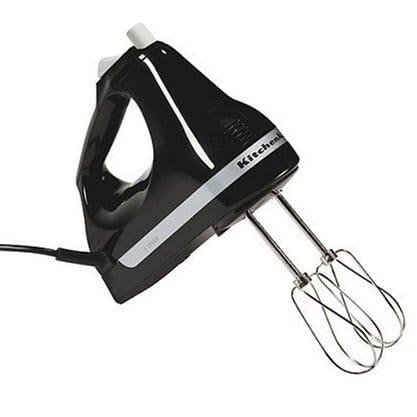 キッチンエイド ハンドミキサー 5スピード切替 ブラック KitchenAid Ultra Power 5-Speed Hand Mixer Black 家電