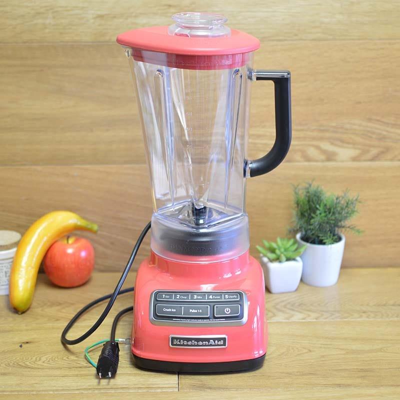 キッチンエイド ブレンダー ミキサー ウォーターメロン KitchenAid KSB1575 Diamond Vortex 5 speed Blender Watermelon 家電