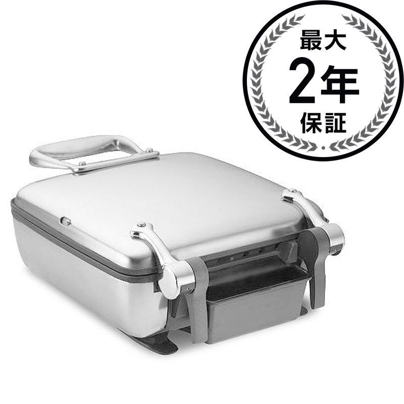 オールクラッド ワッフルメーカー 4枚焼 All-Clad Stainless Steel Belgian Waffle Maker with 7 Browning Settings, 4-Square 家電