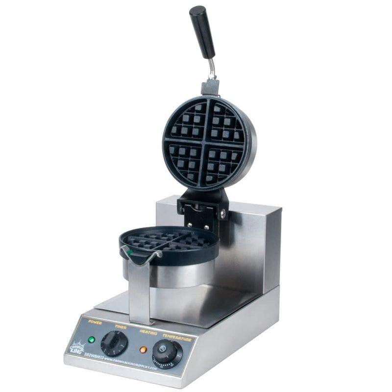 業務品質 ワッフルメーカー Carnival King WBM13 Belgian Waffle Maker with Timer
