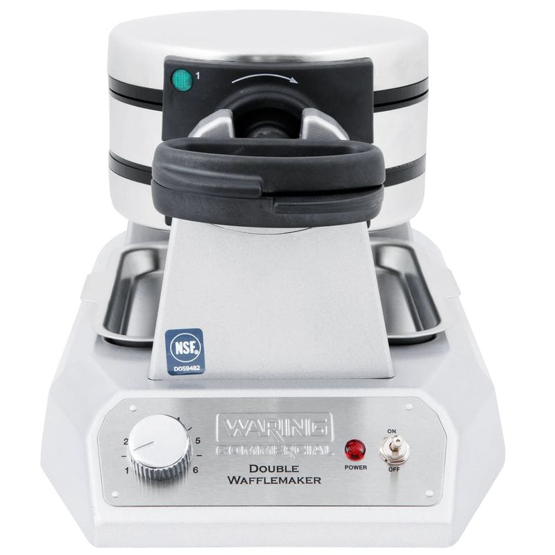 Commercial Double Waffle Maker Waring WWD200 120V!! NEW