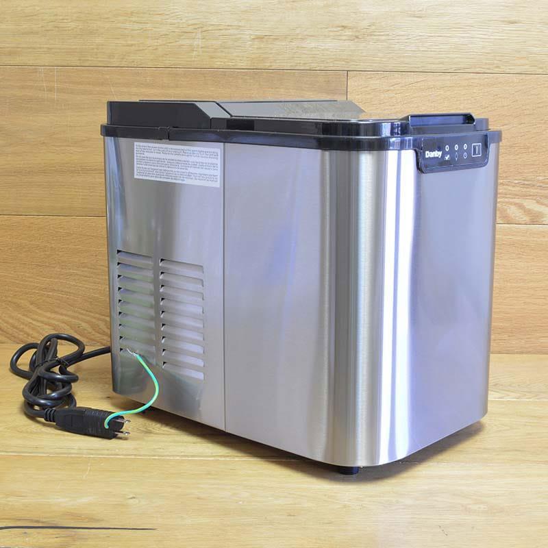 ダンビー ポータブル アイスメーカー 製氷機 Danby DIM2500SSDB Danby Ice Portable Ice Portable Maker 家電, 右京区:4ab89524 --- sunward.msk.ru