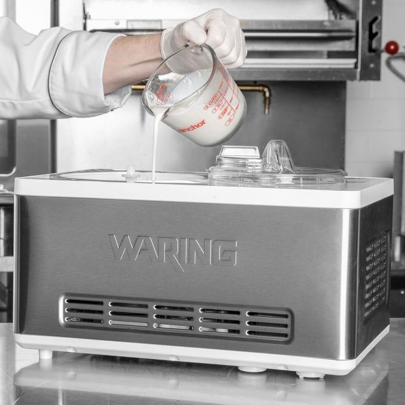 【送料無料】 アイスクームメーカー 業務品質 ワーリング 2L コンプレッサー内臓 Waring WCIC20 2 Qt. Compressor Ice Cream Maker 家電