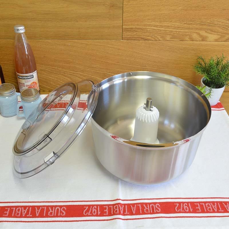 ボッシュ ユニバーサルプラス スタンドミキサー用 ステンレスボウル アタッチメント Universal Plus Stainless Steel Bowl for Bosch Universal Mixers MUZ6ER2