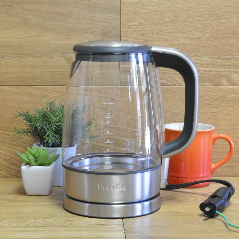 ブレビル 電気ケトル Breville USA BKE595XL The Crystal Clear Electric Kettle 家電