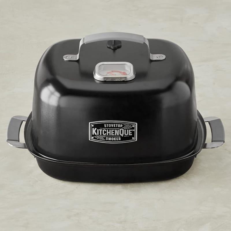 燻製器 直火 スモーカー IH対応 Kitchen Que Stainless-Steel Stovetop Smoker
