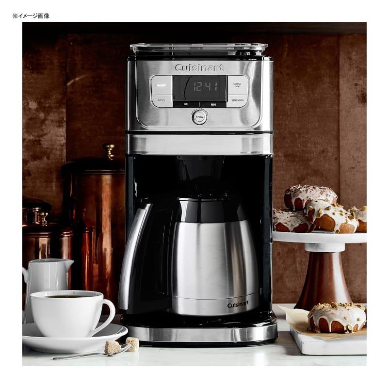 ウイリアムズ・ソノマ クイジナート 豆挽き付 コーヒーメーカー 10カップ ステンレスカラフェ williams-sonoma Cuisinart Next Generation 10-Cup Thermal Burr Grind & Brew Coffee Maker 家電