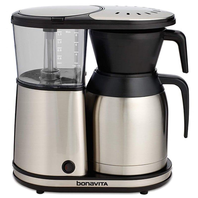 ボナビータ コーヒーメーカー 8カップ 1.3L ステンレスカラフェ Bonavita BV1900TS 8-Cup Carafe Coffee Brewer 家電